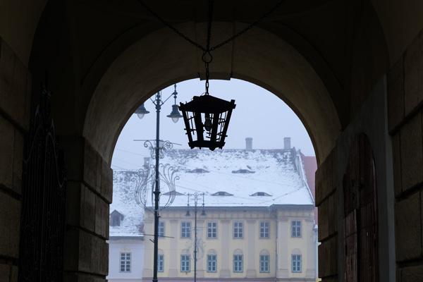 Arco nel centro di Sibiu