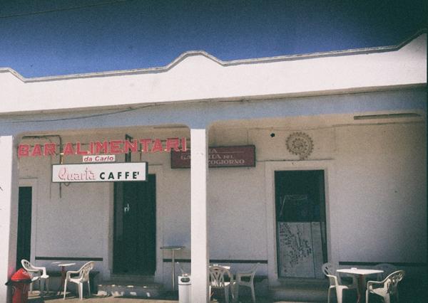 Bar da Carlo a Porto Badisco