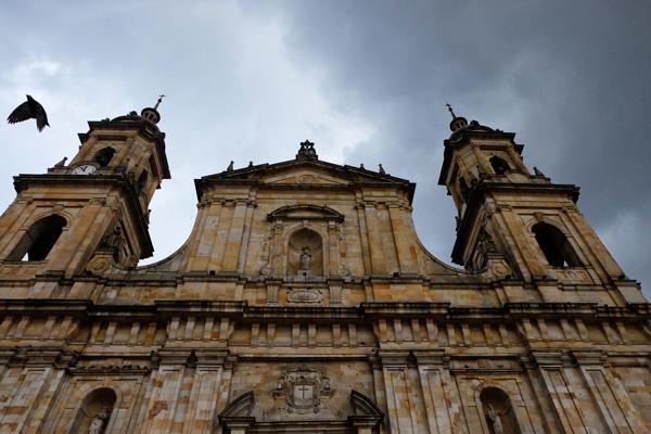 La Catedral Primada di Bogotà. Inizia dalla capitale l'itinerario di 3 settimane in Colombia.