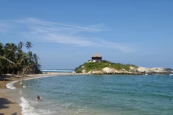Cabo San Juan, da non perdere durante il vostro  itinerario di 3 settimane in Colombia.