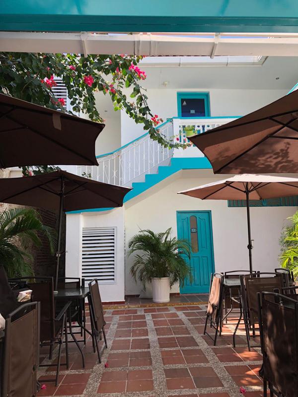 Cartagena Casa Bohemia hotel . Ottima struttura per il vostro itinerario di 3 settimane in Colombia.