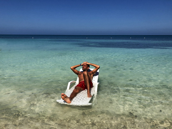 Isla Mucura in Colombia. Il posto ideale per rilassarvi durante il vostro itinerario di 3 settimane in Colombia.
