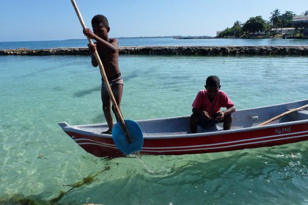 Isla Mucura in Colombia. Meta per relax totale durante il vostro  itinerario di 3 settimane in Colombia.