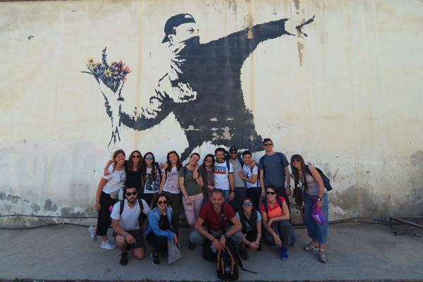 Validi motivi per visitare Gerusalemme: la street art di Betlemme